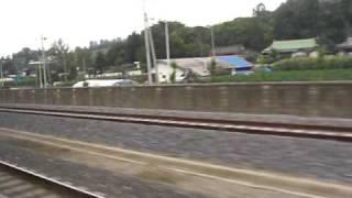 韓国 全羅線 南原-全州駅間 セマウル1120号 上り 走行3