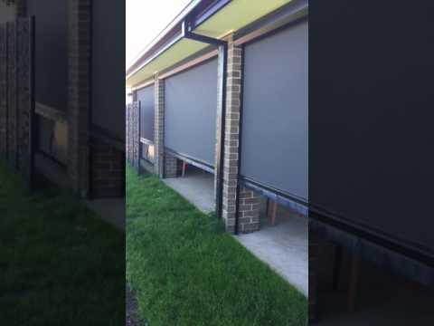 Ziptrak Blinds Melbourne - Motorised Outdoor blinds by Alfresco Blinds Co