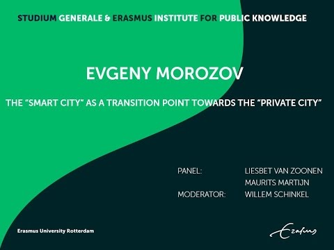 Studium Generale Evgeny Morozov