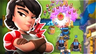 EXTREME SPARKY TROLLING!! | MOST UNFAIR STRATEGY in Clash Royale!!