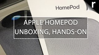 Apple HomePod Unboxing & Hands-on Review (UK)