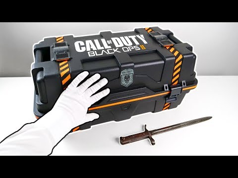 """Black Ops 2 """"CARE PACKAGE"""" Unboxing! Call Of Duty Black Ops II Collector's Edition"""