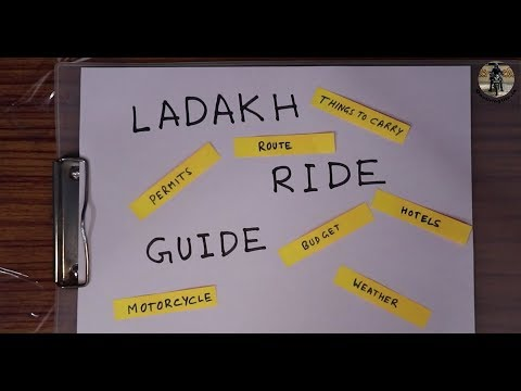 A Complete Ladakh Bike Road Trip Guide - 1 | Which Motorcycle, Things to Carry, Permits, Weather Mp3