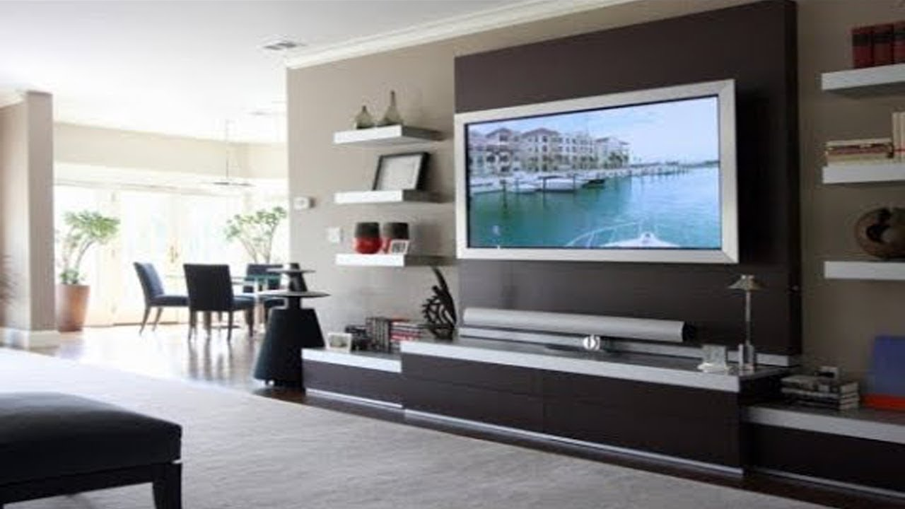 Tv cabinet designs for living room india tv cabinet on wall modern tv unit design ideas - Living room tv ideas ...