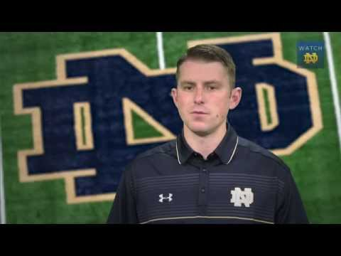 Mike Sanford - Notre Dame Offensive Coordinator/Quarterbacks