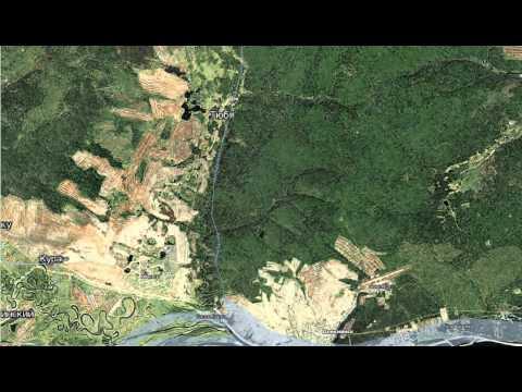 Спутниковая карта Сахи с Mapsshop.ru