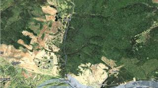 видео Спутниковая карта Сахалинской области