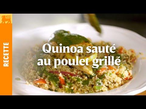 quinoa-sauté-au-poulet-grillé