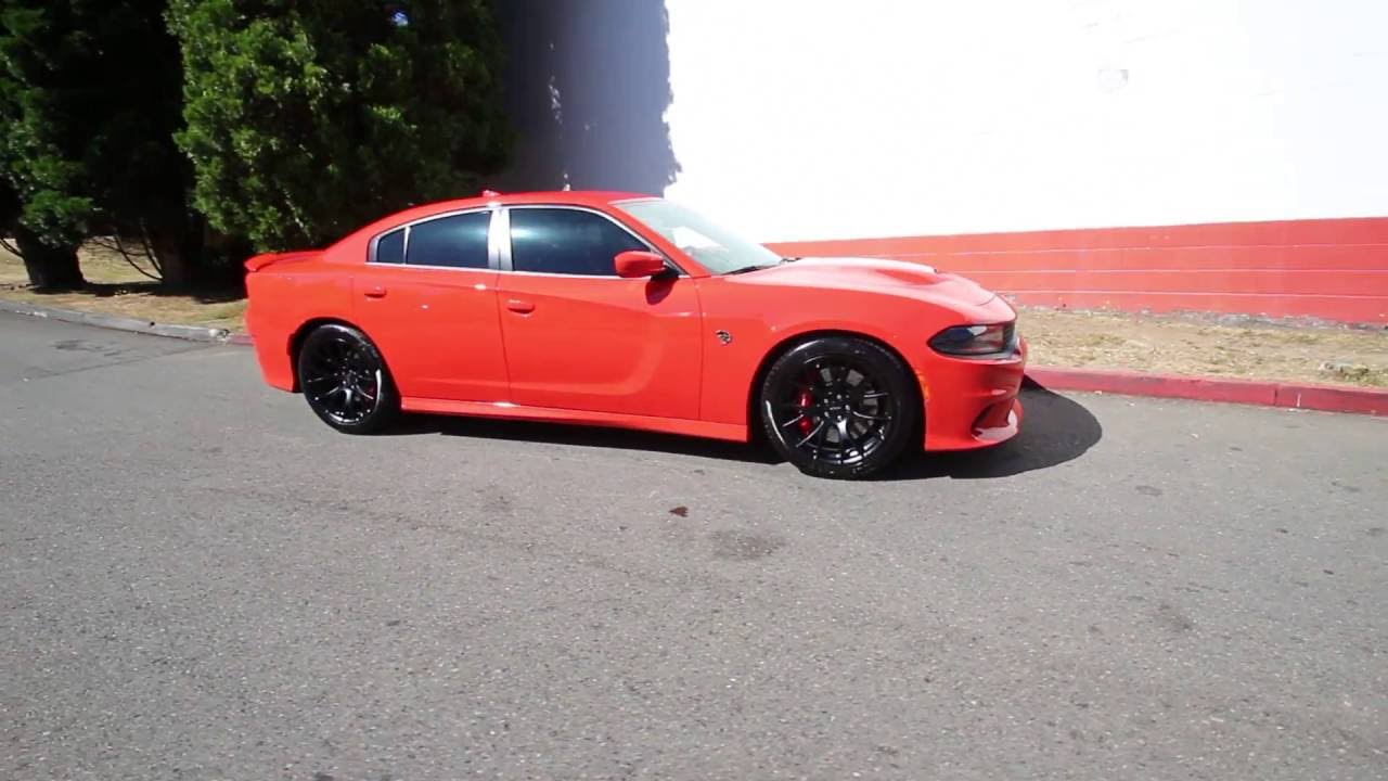 Go Mango Charger Hellcat >> 2016 Dodge Charger SRT Hellcat | Orange | GH280589 | Redmond | Seattle - YouTube