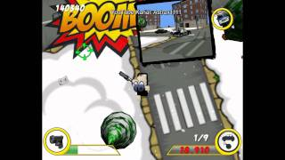 Gameplay # Police Destruction Street Deutsch/German (HD 1080p)