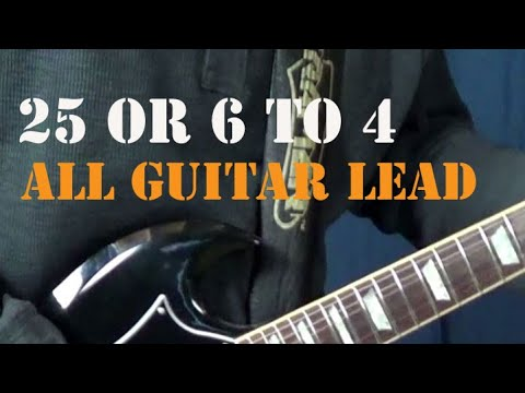 Chicago 25 or 6 to 4 - All guitar licks