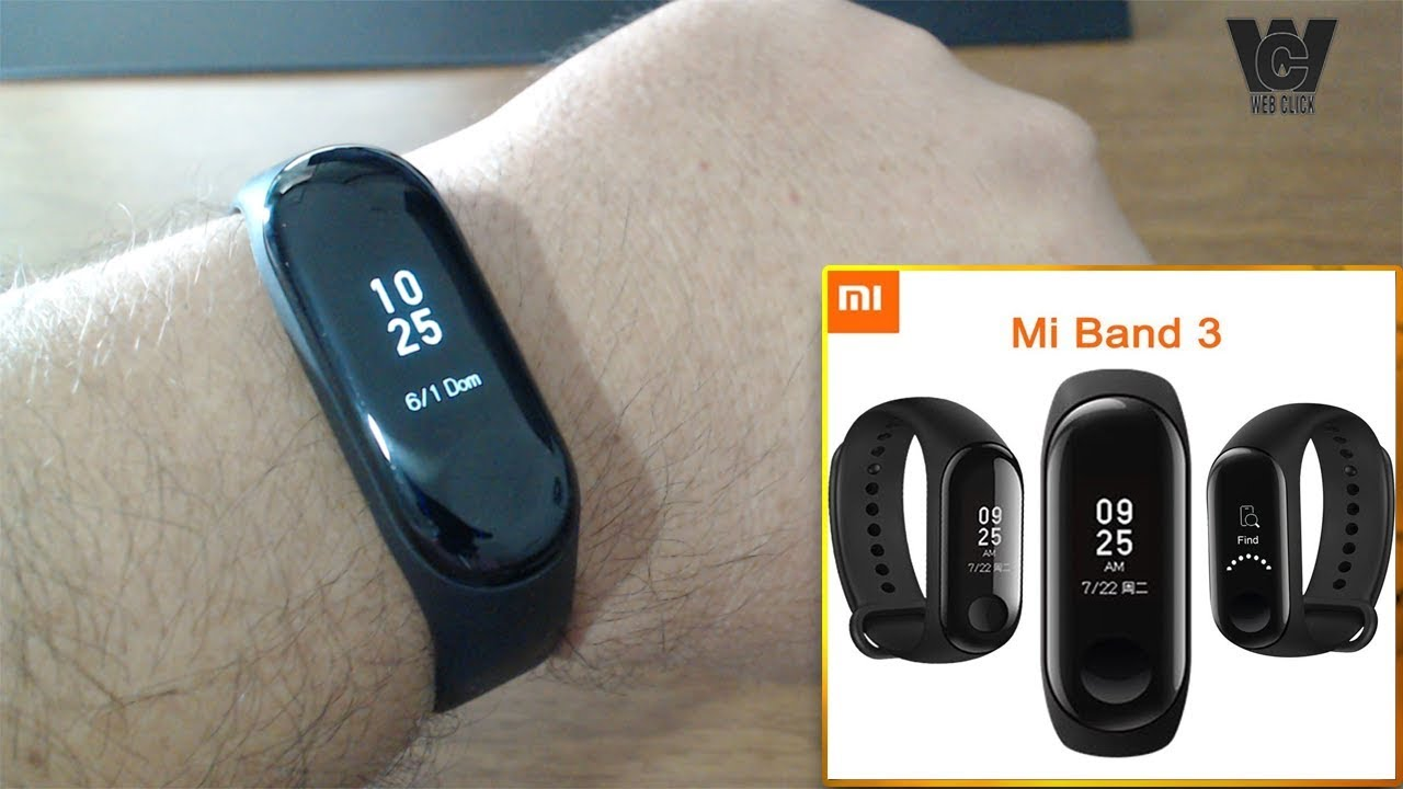 Unboxing Review Mi Band 3 Xmsh05hm Da Xiaomi A Pulseira Inteligente Youtube
