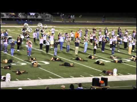 Ocean Springs High School Marching Band Thriller Halloween Show 31 Oct 2014