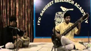 Sitar Recital: Ramprapanna Bhattacharya - Raag Jhinjhoti (Live Performance @ ITC SRA)