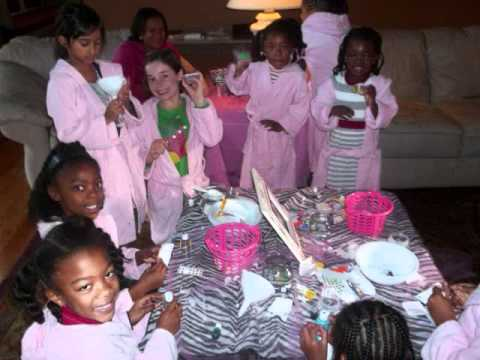 Spa Parties for Girls Party Theme wmv