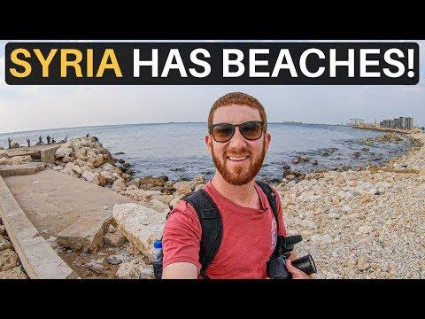SYRIA HAS BEACHES! (Hidden Gem of Mediterranean)