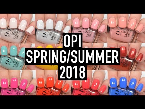 OPI - Lisbon (Spring/Summer 2018) | Swatch and Review