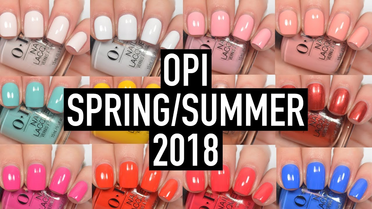 Гель-лак OPI GelColor, цвет Color So Hot It Berns Z13 - YouTube