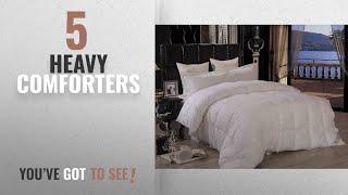 Top 10 Heavy Comforters [2018]: Pure Element Down-Alternative Heavy Fill Comforter/Duvet Insert -