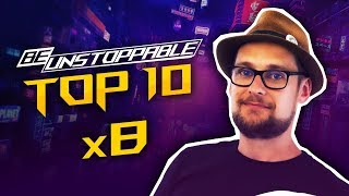 Wyzwania ROG Be Unstoppable - BlackFireIce PUBG TOP 10 x8