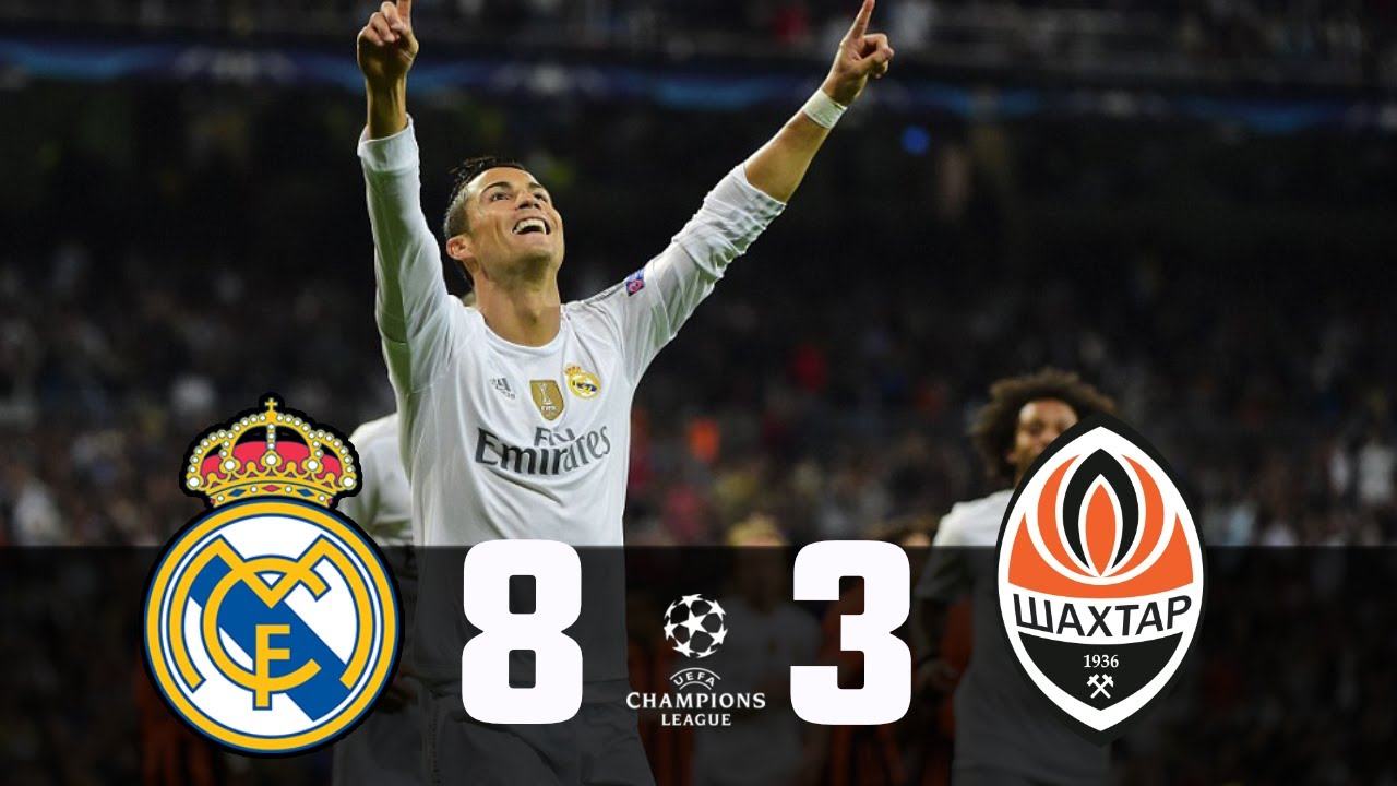 Download Real Madrid vs Shakhtar Donetsk(8-3) UCL2016 Group stage / All Goals and Highlights