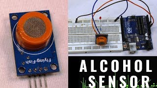 ALCOHOL SENSOR MQ3 WITH COMPLETE DETAIL [ HOW TO USE]