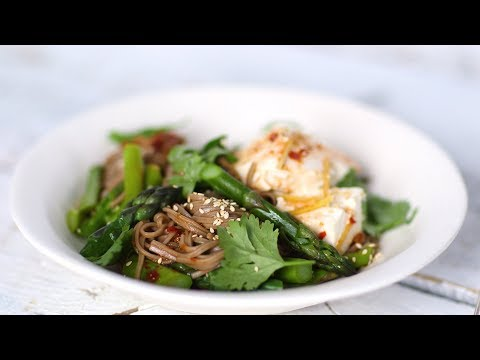 Soba-Noodle Bowl with Tofu - Healthy Appetite with Shira Bocar
