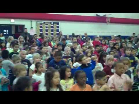 Holland Heights Elementary Students Rap about Reading!
