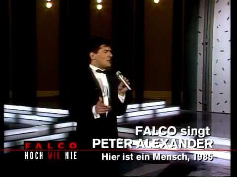 Falco - Hier ist ein Mensch