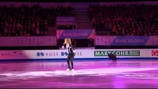 Юлия Липницкая GPF2014 Барселона Показательные выступления