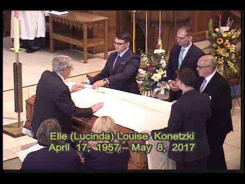 Funeral of Elle Konetzki