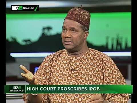 TVC Breakfast September 22nd | Hight Court Proscribes IPOB
