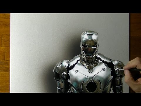Iron Man or War Machine? - How to Draw 3D Art