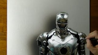 3D drawing: Iron Man or War Machine?