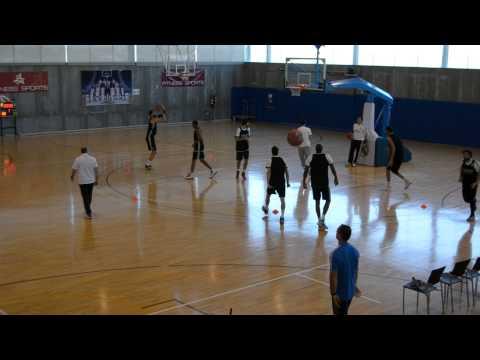 Calentamiento Real Madrid Baloncesto