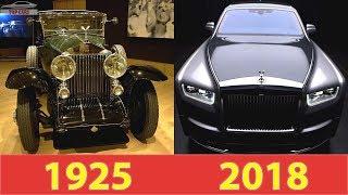 [Top Cars]: The Rolls-Royce Phantom Evolution (1925-2018)