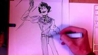 How to Draw Sweeney Todd