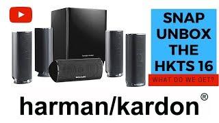 Harman Kardon HKTS16 - Snap Unboxing