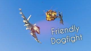 GTA V PC | Tonihm96 Vs. zIPsychxatre___ | Friendly dogfight