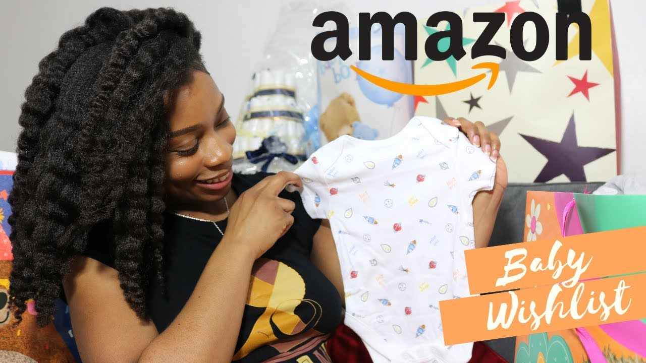 Baby Shower Haul Amazon Baby Wishlist Newborn Gift Ideas Opening My Baby Shower Gifts 2020 Youtube