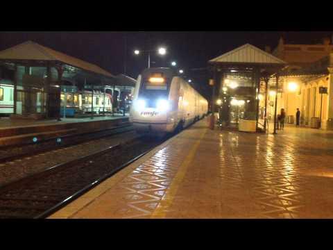 Tarde de trenes en Murcia del Carmen