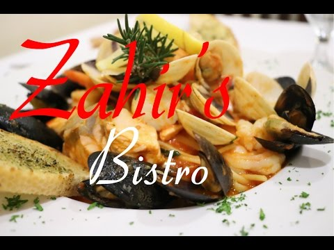 Zahir's Bistro Italian-American Food *DELICIOUS* Milpitas, Ca. FOOD REVIEW Pasta