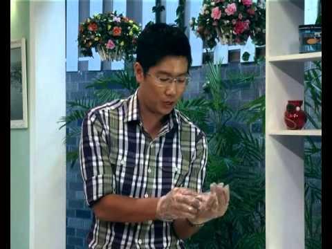 Tôm cuộn khoai môn sợi - Món Ngon [HTV9 -- 20.11.2012]