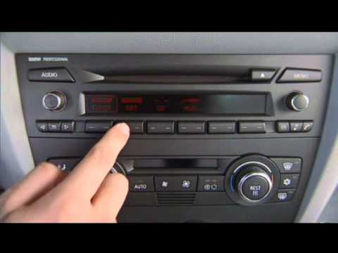 3 Series Radio Basics Owner S Manual Youtube