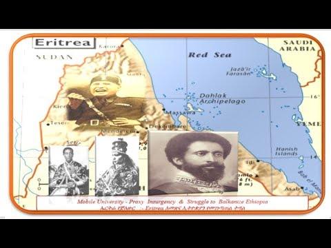 "MUE  #""The Nascent Colonial Eritrea"" Eritrea Proxy Insurgency to Balkanize Ethiopia Part 9"