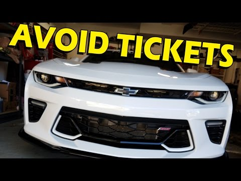 Front License Plate Holders: A Review of Options - 2016/2017 Camaro SS, LT, 1LE, ZL1