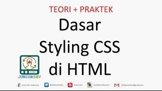 Dasar-Dasar HTML dan CSS untuk Pemula | Tutorial HTML (part 4)
