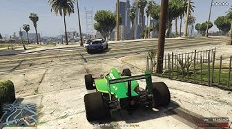 GTA Online Casino Heist: Escaping The Cops with F1 Cars!