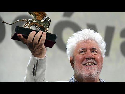 Almodovar, 76. Venedik Film Festivali'nde Yaşam Boyu Başarı Ödülü aldı