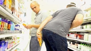 THE POOTER AT TARGET - Man Farts on People in Store